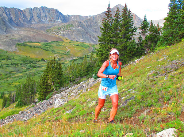 Kerrie Bruxvoort at the Breck Crest Marathon