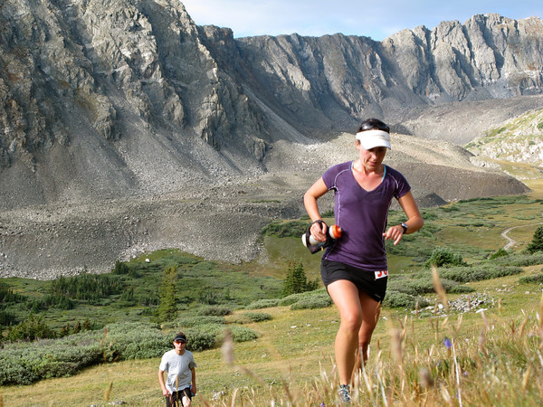 Silke Koester at the Breck Crest Marathon