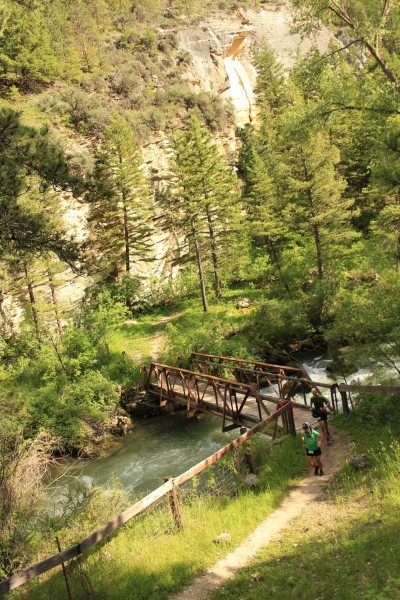 BigHorn100 Footbridge Out