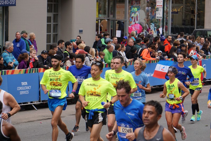 Team Amelia at the NYC Marathon