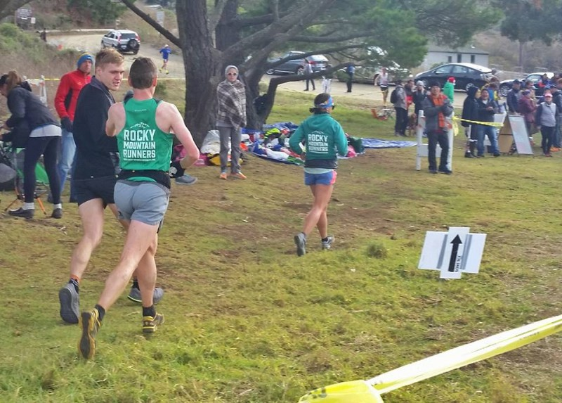 Tennessee Valley running aid station (mile 44). Photo by Cassie Scallon.